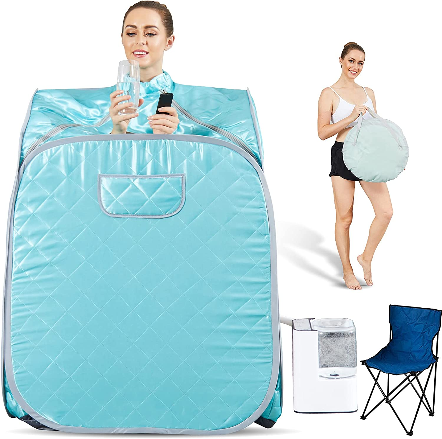 Hicient Limited Special Price Steam Sauna Individual Home Spa-Indoor Portable Se shopping