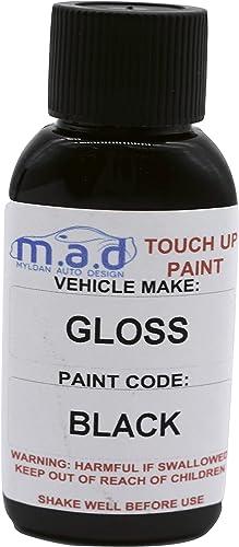 Mad Kit de peinture avec pinceau pour réparation jantes en alliage - Noir