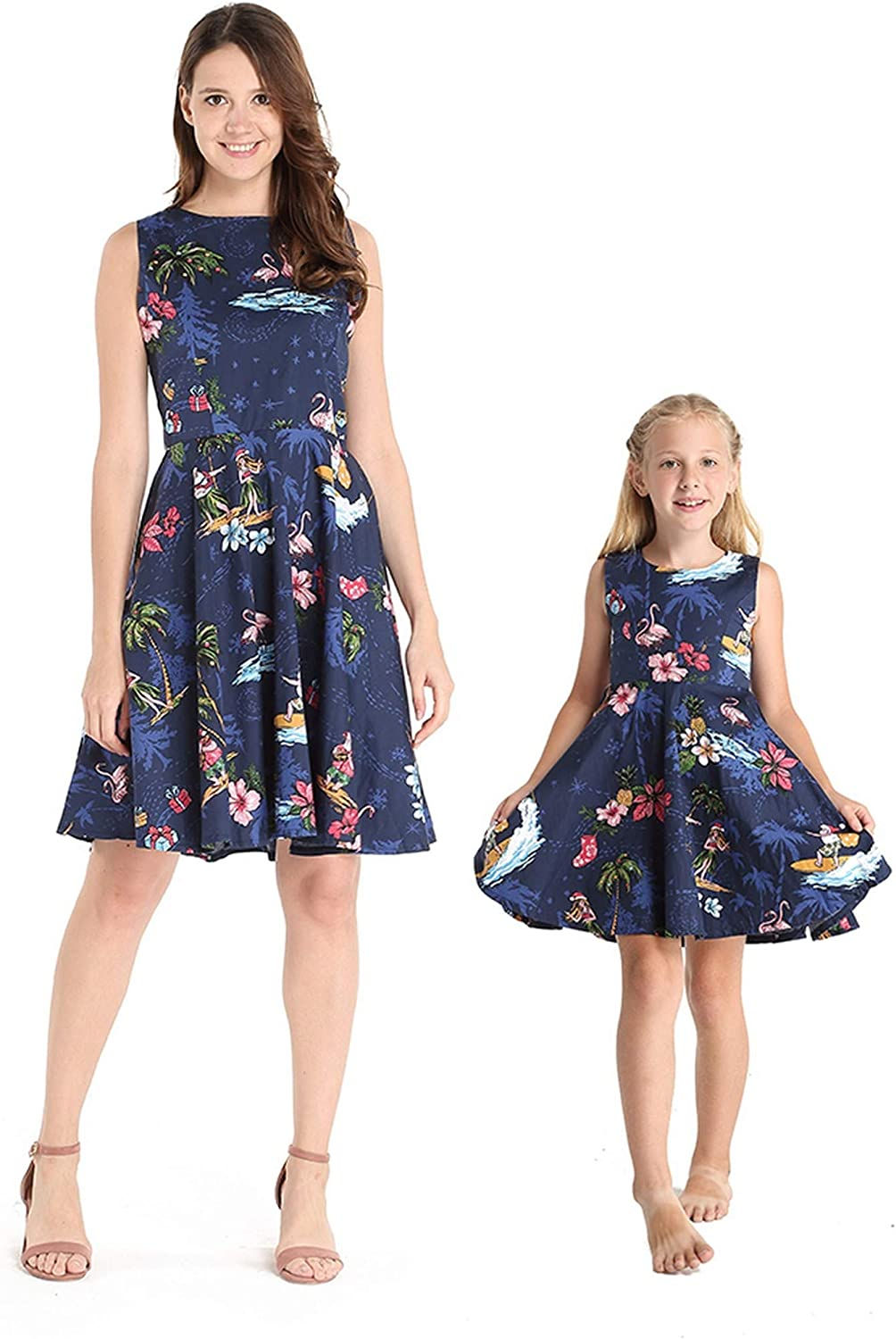 Matching Hawaiian Max Max 88% OFF 52% OFF Luau Mother Daughter and Dre Flare Vintage Fit