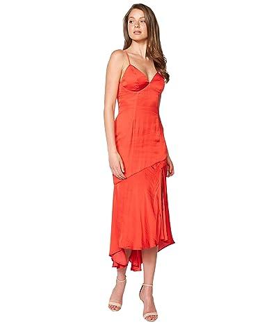Bardot Deanna Slip Dress (Fire Red) Women