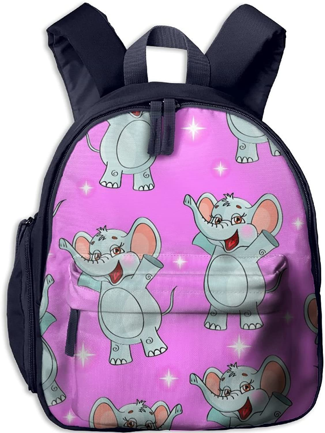 Pinta Cute Baby Elephant Cub Cool School Book Bag Backpacks for Girl's Boy's