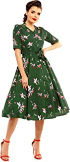 huge selection of 98660 fdc53 Amazon.it: vestito vintage anni 50 - 40 / Donna: Abbigliamento