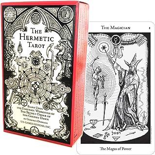 タロットカード 78枚 タロット占い 【 ヘルメティック タロット The Hermetic Tarot 】日本語解説書付き [正規品]