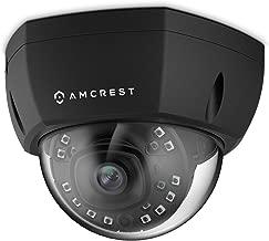 Amcrest ProHD Outdoor 1080P PoE Vandal Dome IP Security Camera - IP67 Weatherproof, 2MP (1920 TVL), IP2M-851EB (Black)