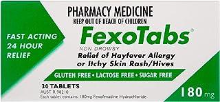 Fexotabs 180mg Tablets 30 (Same as Telfast)