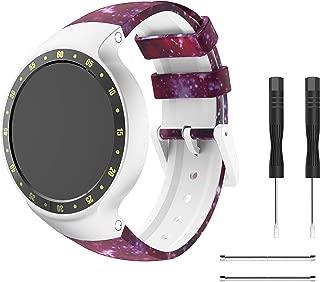 patrohoo Bands Ticwatch S Smart Watch, Rubber Watch Band Ticwatch S Aurora/Glacier/Knight Smart Watch Women Man.