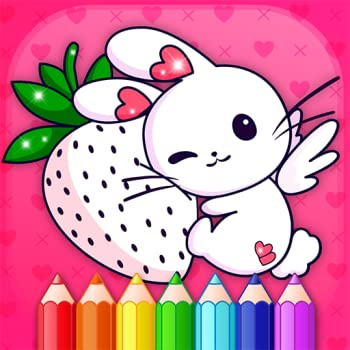Animated Kids Coloring Book