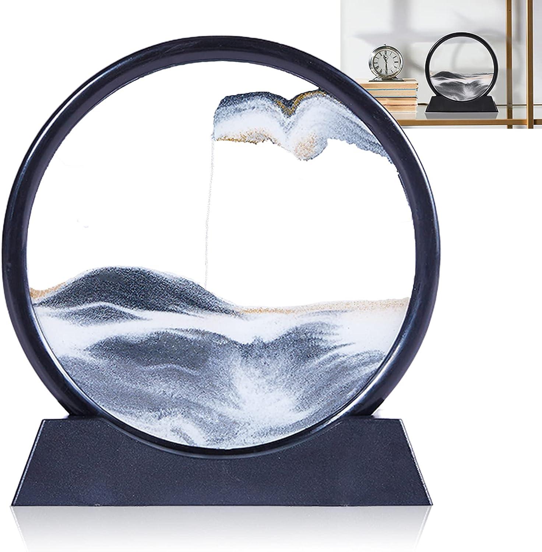 YOOLANSA Import half Sablea Magic Sandglass Sand P Sandscape,Moving Art