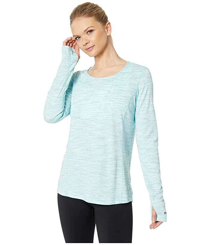 Marmot Taylor Canyon Long Sleeve Top (Blue Tint) Women