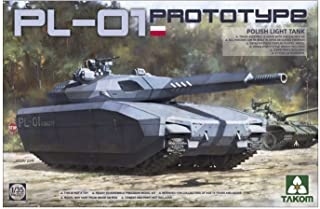タコム 1/35 ポーランド軍 PL-01 試作軽戦車 ステルスタンク プラモデル TKO2127