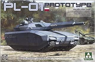 Takom 2127 1/35 Polish PL-01 Light Tank Prototype Military Building Model Kit