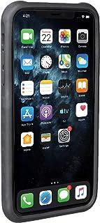 Topeak Unisex– Erwachsene RideCare für iPhone 11 Smartphonehülle, schwarz grau, Pro Max ohne Halter