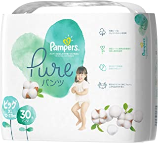 Pampers Pure Protection Pants Diapers, Extra Large XL, 30 count