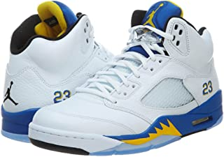 1fb0758cd NIKE Mens Air Jordan 5 Retro Laney Leather Basketball-Shoes