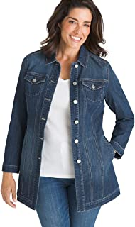 coloured denim jacket womens