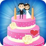 Décoration de gâteau de mariage - Jeux de pâtisserie sucrée