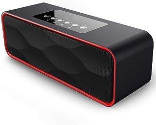 Portátil Estéreo Altavoz Bluetooth, ZEPST inalámbricos Bajo estupendo Bocinas con HD Audio y Manos Libres, Radio FM y TF R...