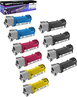 Speedy Inks Compatible Toner Cartridge Replacement for Dell 1320 (4 Black, 2 Cyan, 2 Magenta, 2 Yellow, 10-Pack)
