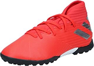 adidas Nemeziz 19.3, Boys Turf Boots, Red (Active Red/Silver Met./Solar Red), 13.5 UK (32 EU)
