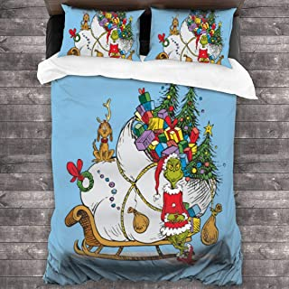 Best grinch queen size bedding Reviews