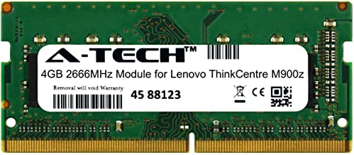 A-Tech 4GB Module for Lenovo ThinkCentre M900z Laptop & Notebook Compatible DDR4 2666Mhz Memory Ram (ATMS350497A25977X1)