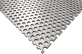 Online Metal Supply Galvanized Steel Perforated Sheet 0.052