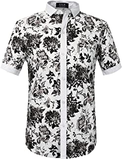 Best black and white print shirt Reviews