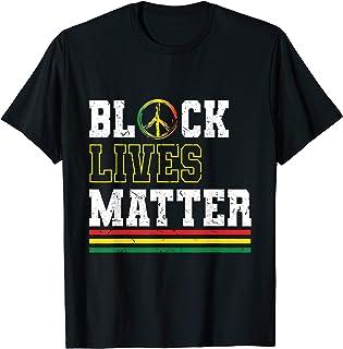 Black lives matter stop racism human rights T-Shirt