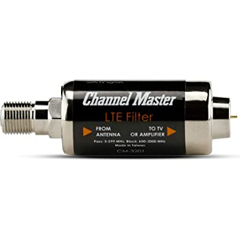 Channel Master LTE Filter Improves TV Antenna Signals