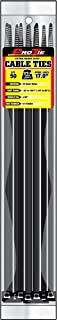 Pro Tie B17EHD50 17-Inch Extra Heavy Duty Standard Cable Tie, UV Black Nylon, 50-Pack