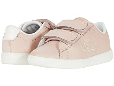 Lacoste Kids Carnaby Evo 220 1 (Toddler/Little Kid) (Natural/Off-White) Kid