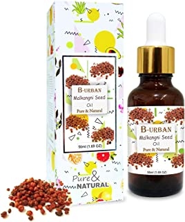 B-URBAN Malkangni Seed Oil 100% Natural Pure Undiluted Uncut Carrier Oil 50ml