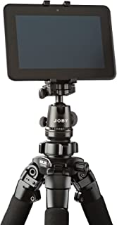 "GripTight Mount for Small Tablets From JOBY – Attach Your Small Tablet to Any Tripod or Mount Using a ¼""-20 Screw"