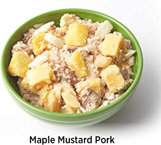 Elements Meals | Maple Mustard Pork | Single Serving | Healthy Freeze Dried Meals | Paleo Friendly | Delicious, Backpacking and Camping Food | High Protein