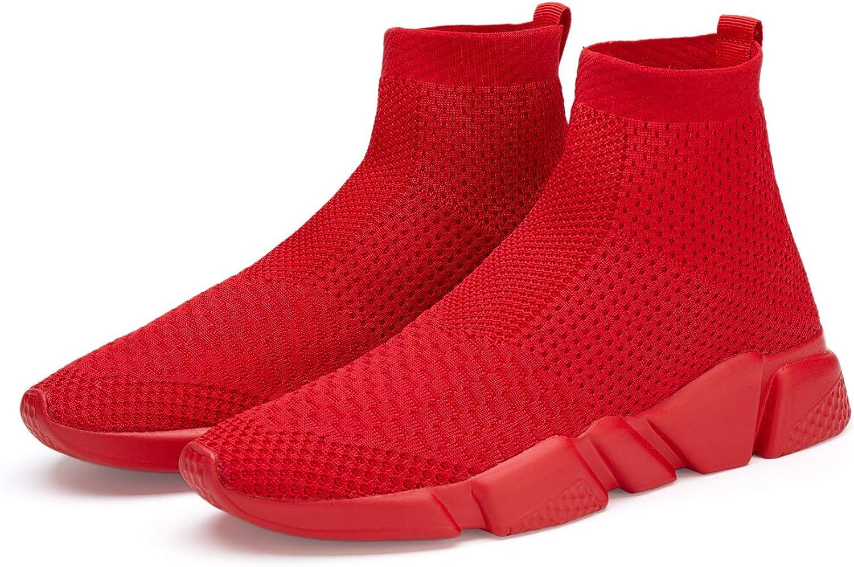 Hetios Girls Sneakers Running Shoes High-Heeled Socks Shoes Boys Athletic Sneakers Kids Sock Shoes (Toddler/Little Kid/Big Kid)