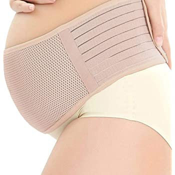 Belly Band for Pregnancy | Lower Back & Baby Bump Support | One Of The Best Pregnancy Gifts For First Time Moms | Prevent Stretch Marks | Breathable Maternity Belt | Pelvic, Lumbar, & Hip Pain Relief.