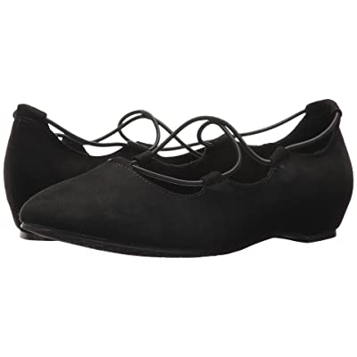 Soft Style Colleen (Black Faux Suede) Women