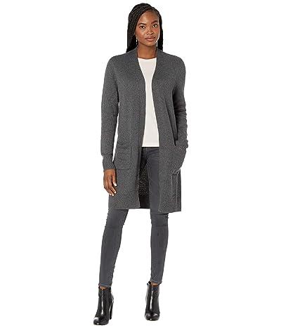 tentree Highline Wool Cardigan (Dark Grey Heather) Women