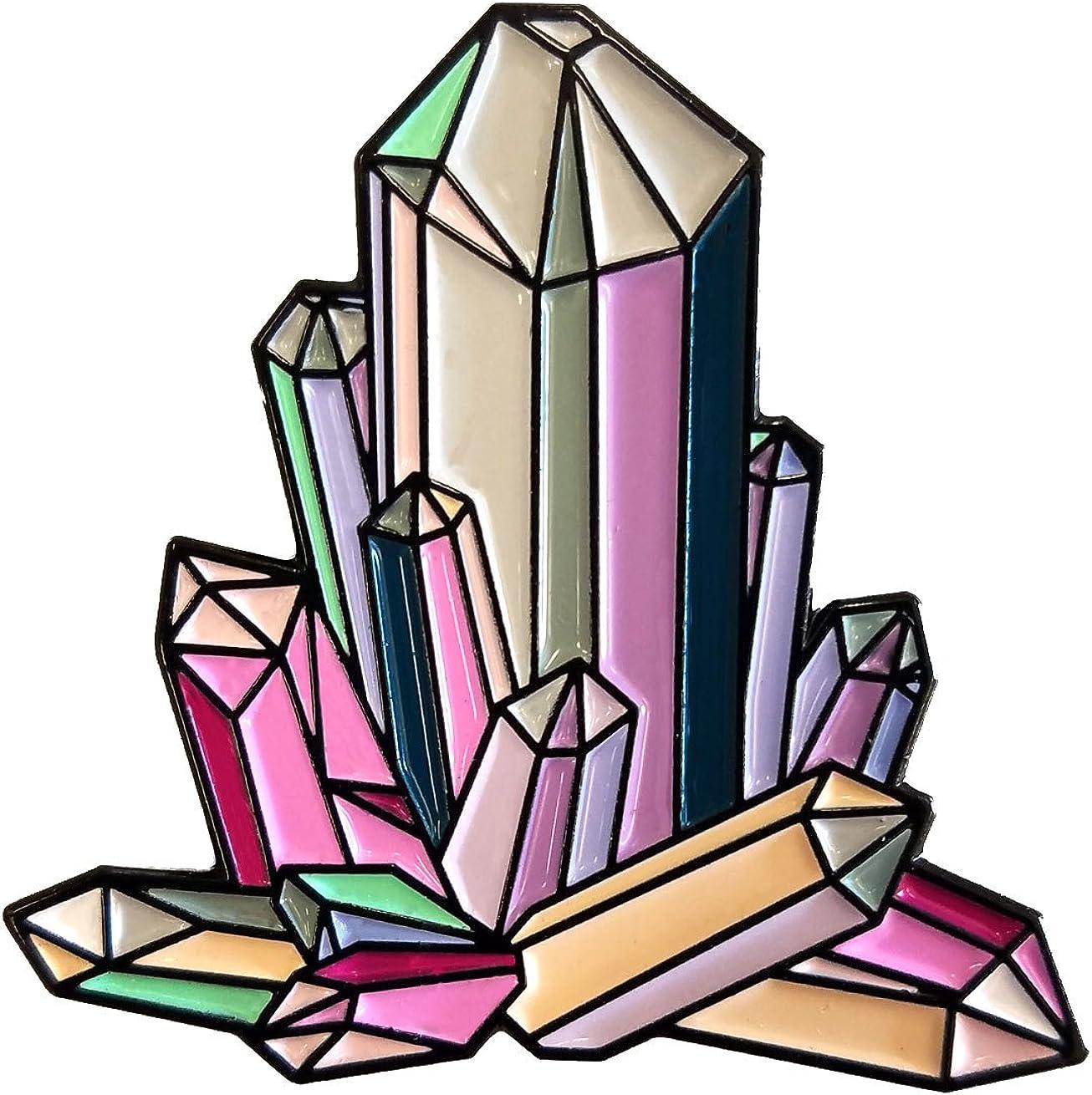 Dark Spark Decals Quartz Crystal Geode Spiritual Wholesale Arlington Mall Cluster 1 Peace