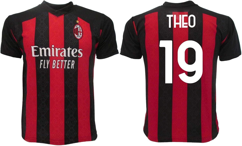 Maglia Theo Milan 2021 Ufficiale 2020-2021 Adulto Ragazzo Bambino Hernandez 19