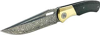 Bastion Gear Baron Folding Knife (Exclusive BATTLBOX First Release) San Mai Damascus Steel Blade