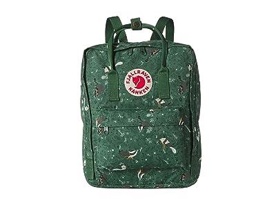 Fjallraven Kanken Art (Green Fable) Backpack Bags