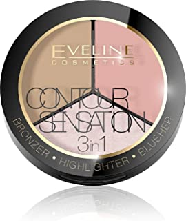 Eveline Contour Sensation 3In1 Set 1 Pink Beige