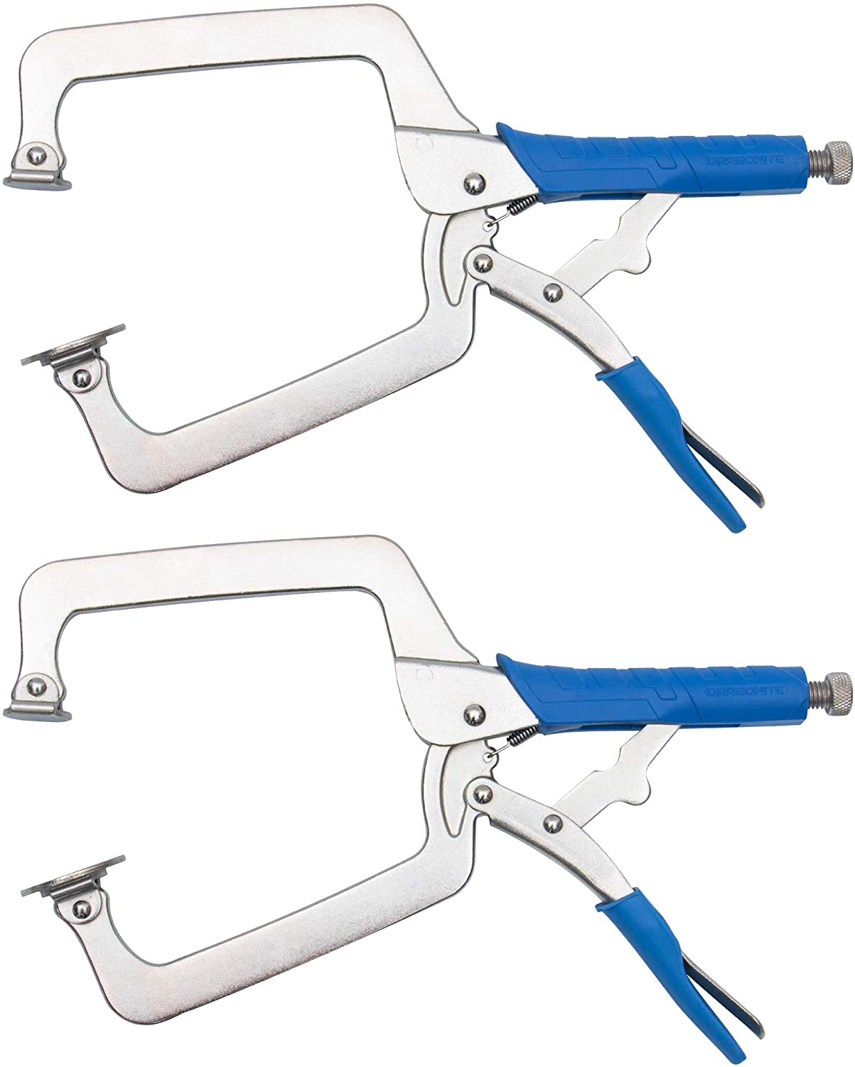DRAGONITE Heavy Duty Austin Mall C SEAL limited product Clamp Vise Swiv Grip With Pliers Locking