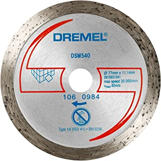 Dremel 2615S540JA Disco de corte de diamante para azulejos DSM20 (DSM540)