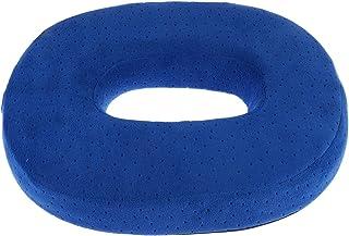 Healifty Cojín de Asiento de Espuma de Memoria Tipo O Almohadillas de Espuma Suaves y cómodas para el Ministerio del Interior