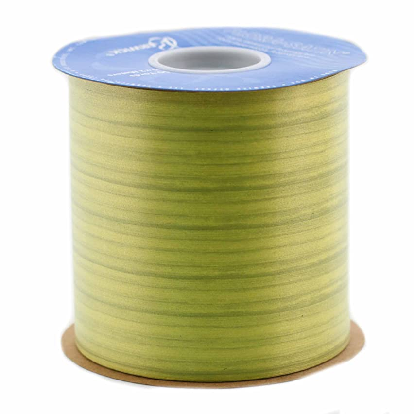 Berwick Tru-Life Leaves Craft Ribbon, 4-Inch by 50-Yard Spool, Vert Chartreuse