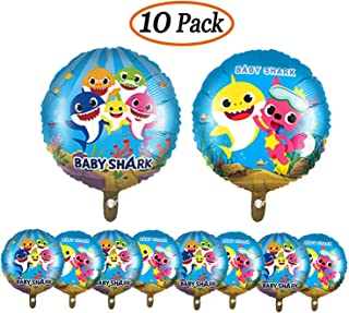 Micher 10 unidades 18 pulgadas Baby Shark Theme Cumpleaños ...