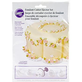 Wilton Floral Garland Cutter/Ejector Set