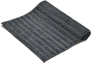 Yellow Weaves Microfiber Anti Slip Bath Mat, 40 X 60 cm, Color : Dark Grey